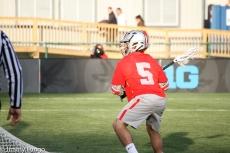 Jack Jasinski against Maryland in the B1G Tournament