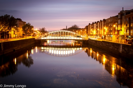 Dublin, Ireland -- James Joyce Bridge